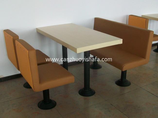 快餐桌椅-T02204