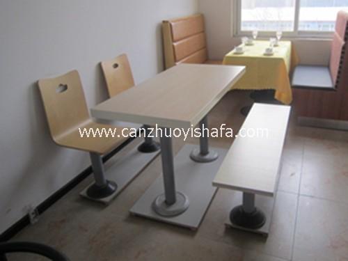 北京快餐桌椅-T02206