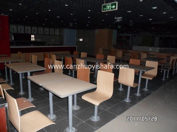 北京快餐桌椅-T02207