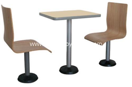 分体快餐桌椅-T02209