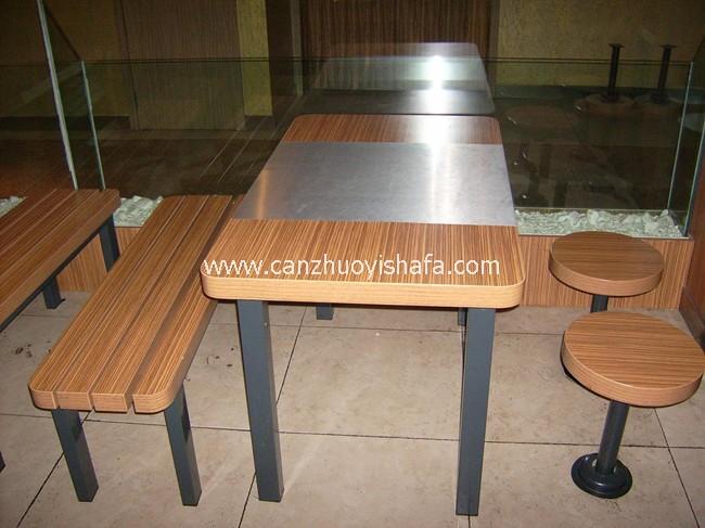 快餐桌椅-T02213