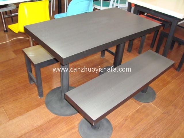 快餐桌椅-T02221