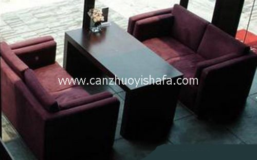 咖啡馆沙发-K1011