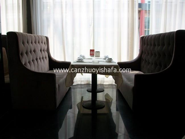 咖啡厅沙发-K1015