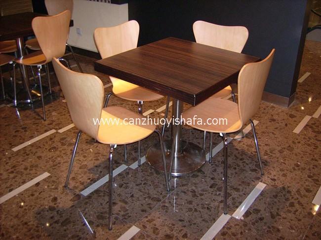 咖啡馆咖啡厅桌椅-T0801