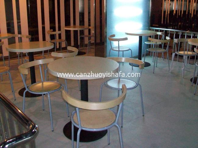 咖啡馆咖啡厅桌椅-T0806