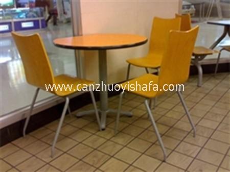 咖啡馆咖啡厅桌椅-T0807
