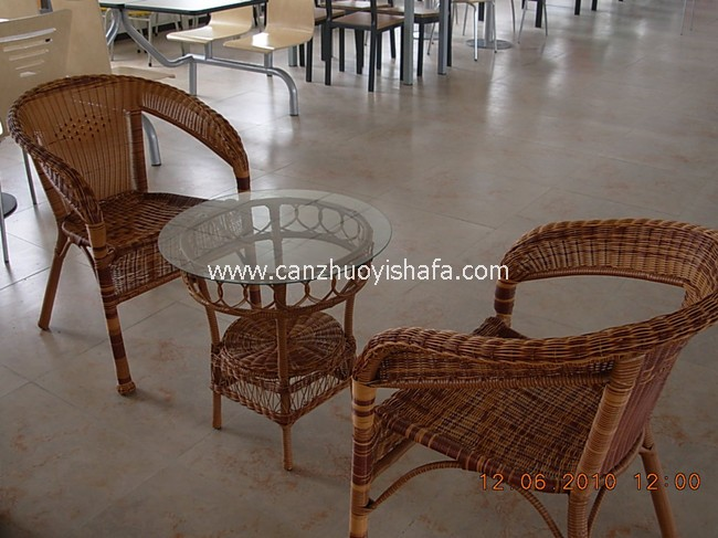 咖啡馆咖啡厅桌椅-T0821