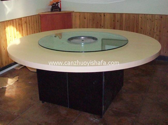 仿实木餐桌椅-T0606