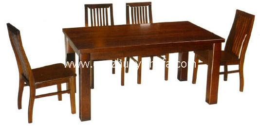 实木餐桌椅-T0611