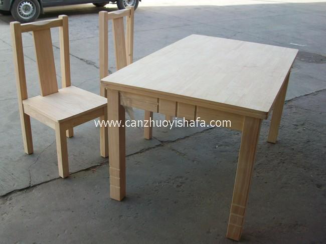 实木餐桌椅-T0619