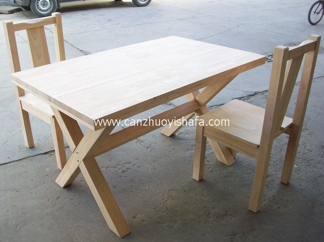 实木餐桌椅-T0620