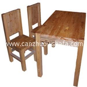 实木餐桌椅-T0621