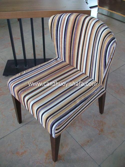 实木软包餐椅-Y1105