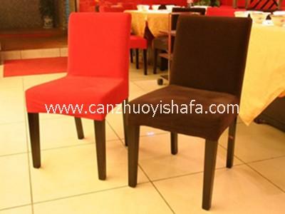 实木软包餐椅-Y1116