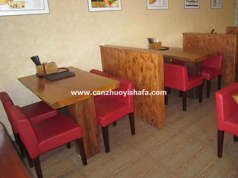 实木餐桌椅-T0624