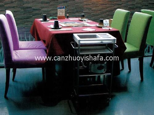 火锅城餐桌椅-T0702