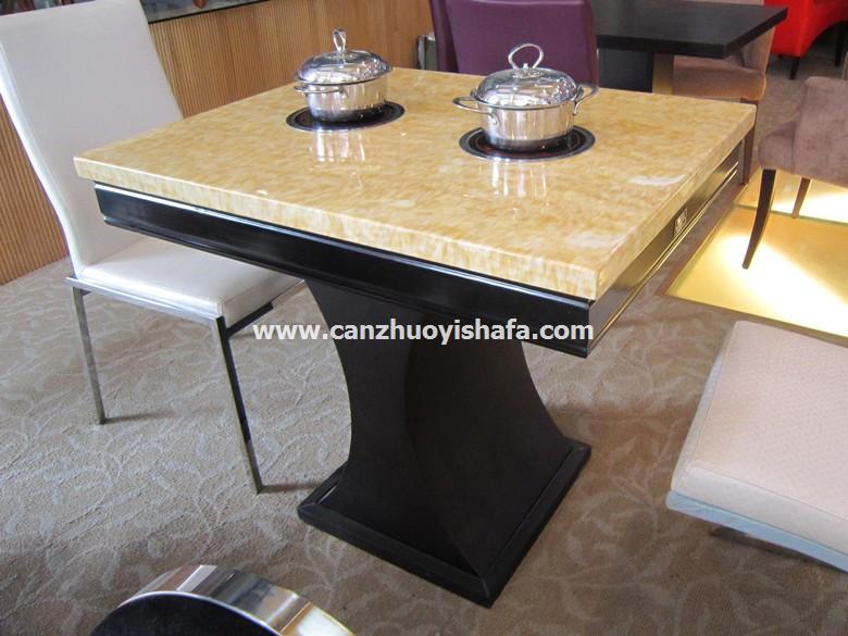 火锅桌椅-T0716