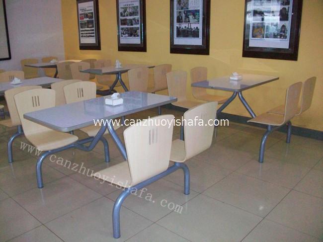 曲木快餐桌椅-T0306