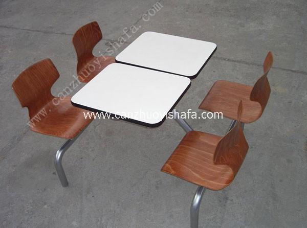 快餐桌椅-T0309