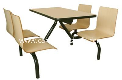 快餐桌椅-T0313