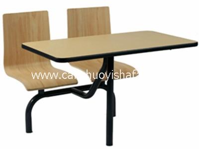 快餐桌椅-T0314