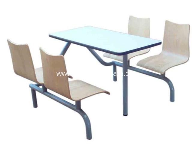 快餐桌椅-T0315