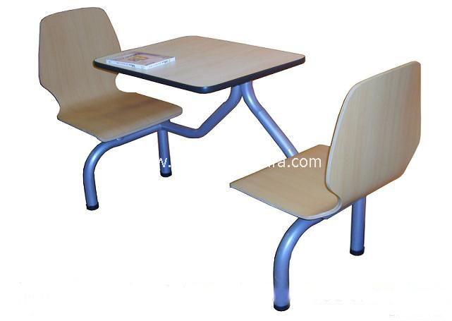 快餐桌椅-T0318