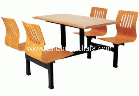 快餐桌椅-T0329