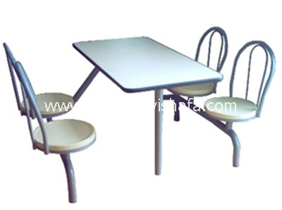 快餐桌椅-T0331
