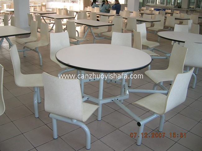 快餐桌椅-T0333