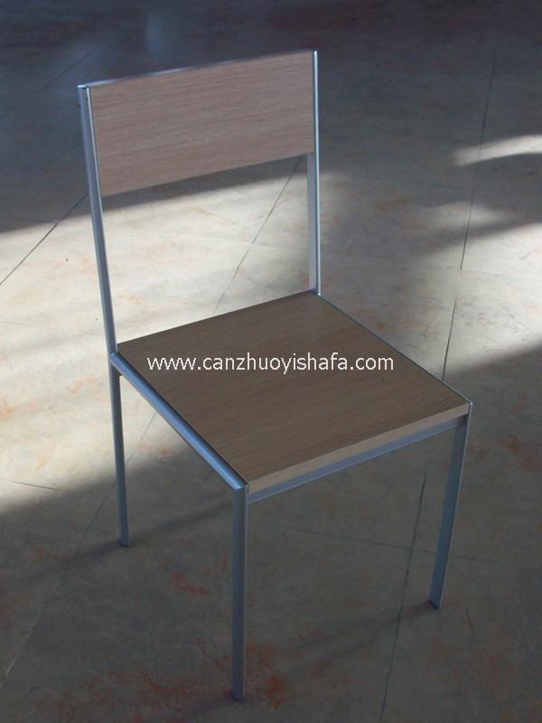 钢木餐椅-Y1211
