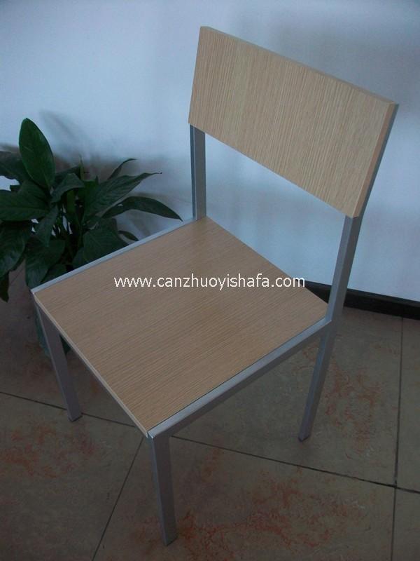 钢木餐椅-Y1212
