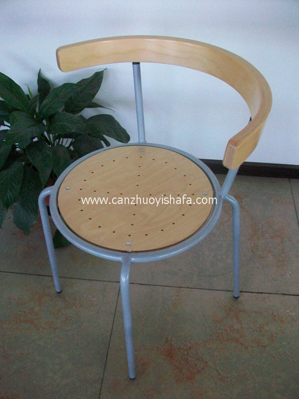 钢木椅-Y1215
