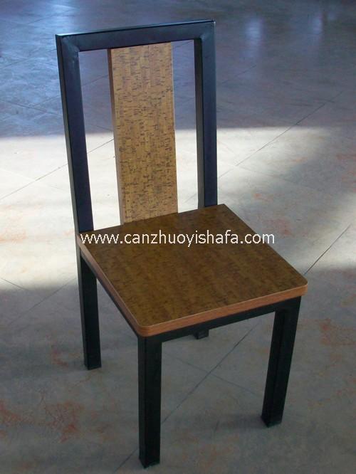 钢木餐椅-Y1222