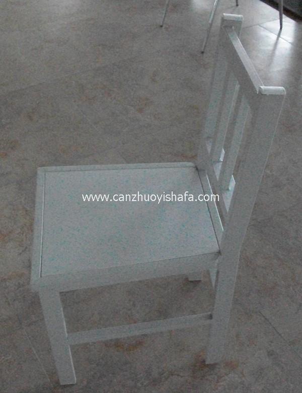 钢木餐椅-Y1223