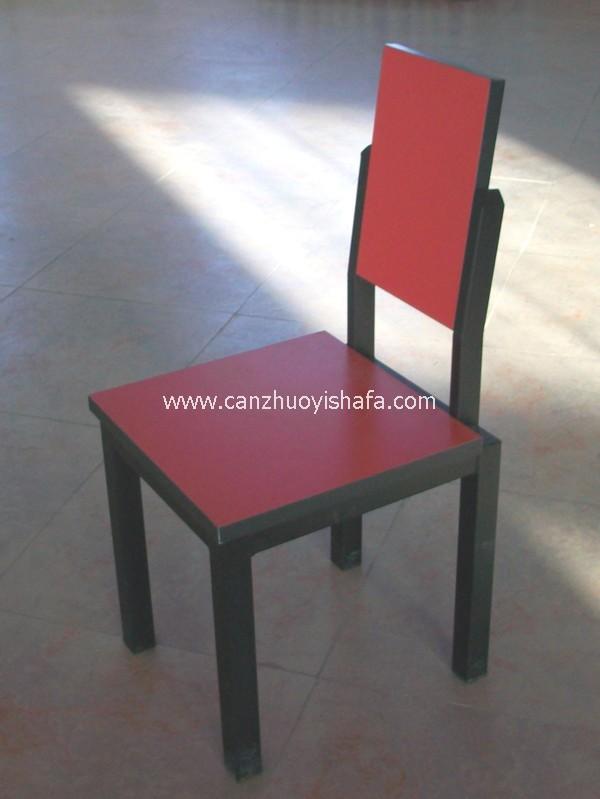 钢木餐椅-Y1225