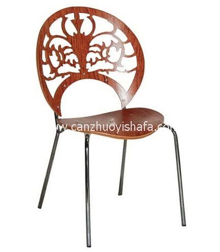 钢制餐椅-Y1232