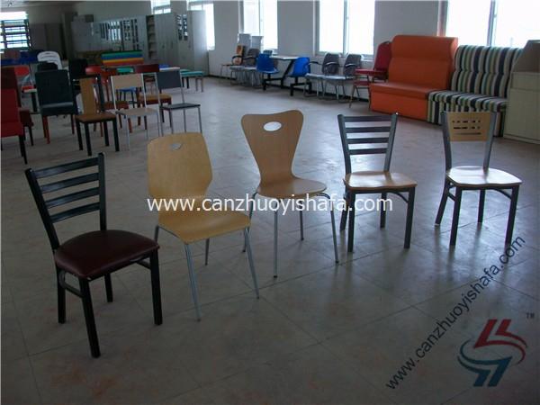 钢木餐椅-YXL201