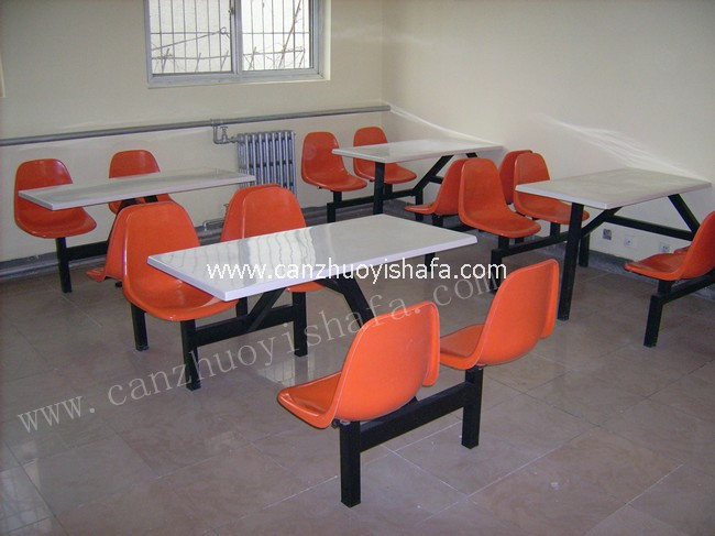 食堂餐桌椅-T0503