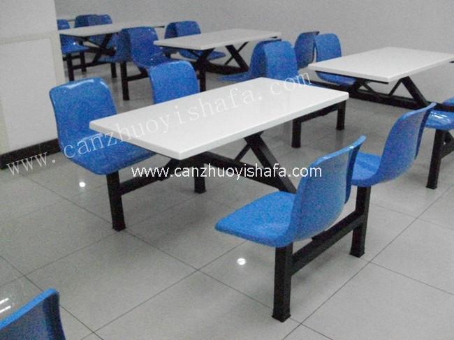 食堂餐桌椅-T0504