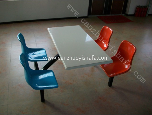 食堂餐桌椅-T0505