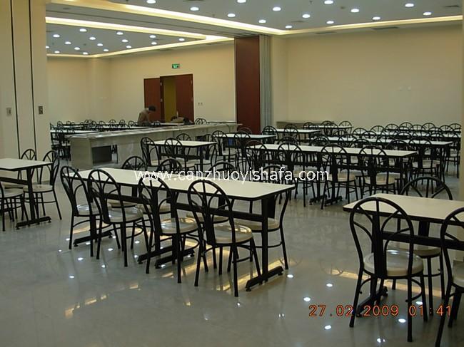食堂餐桌椅-T0527
