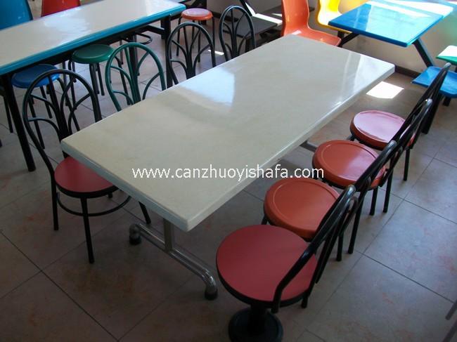 食堂餐桌椅-T0528