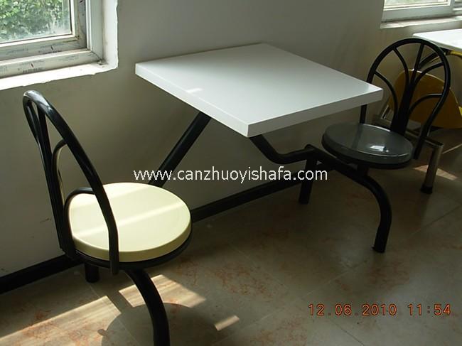 食堂餐桌椅-T0557
