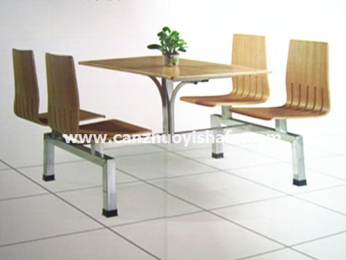 食堂餐桌椅-T0562