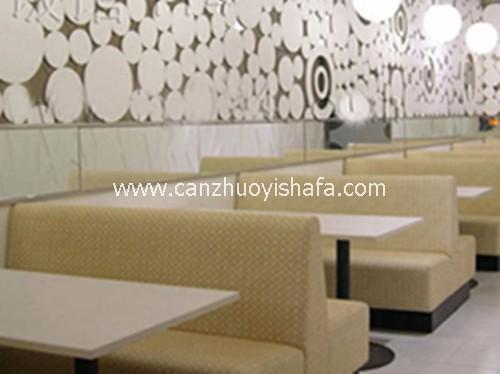 餐厅卡座沙发-K09005