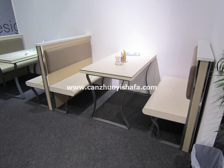茶餐厅卡座沙发-K09040