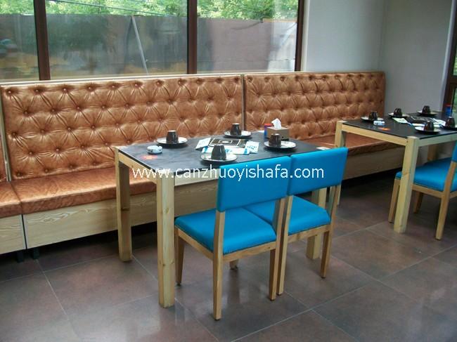 餐厅卡座沙发-K09102