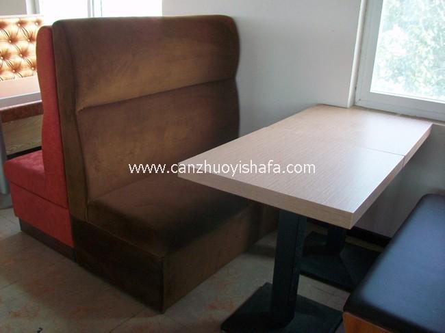 餐厅卡座沙发-K09118